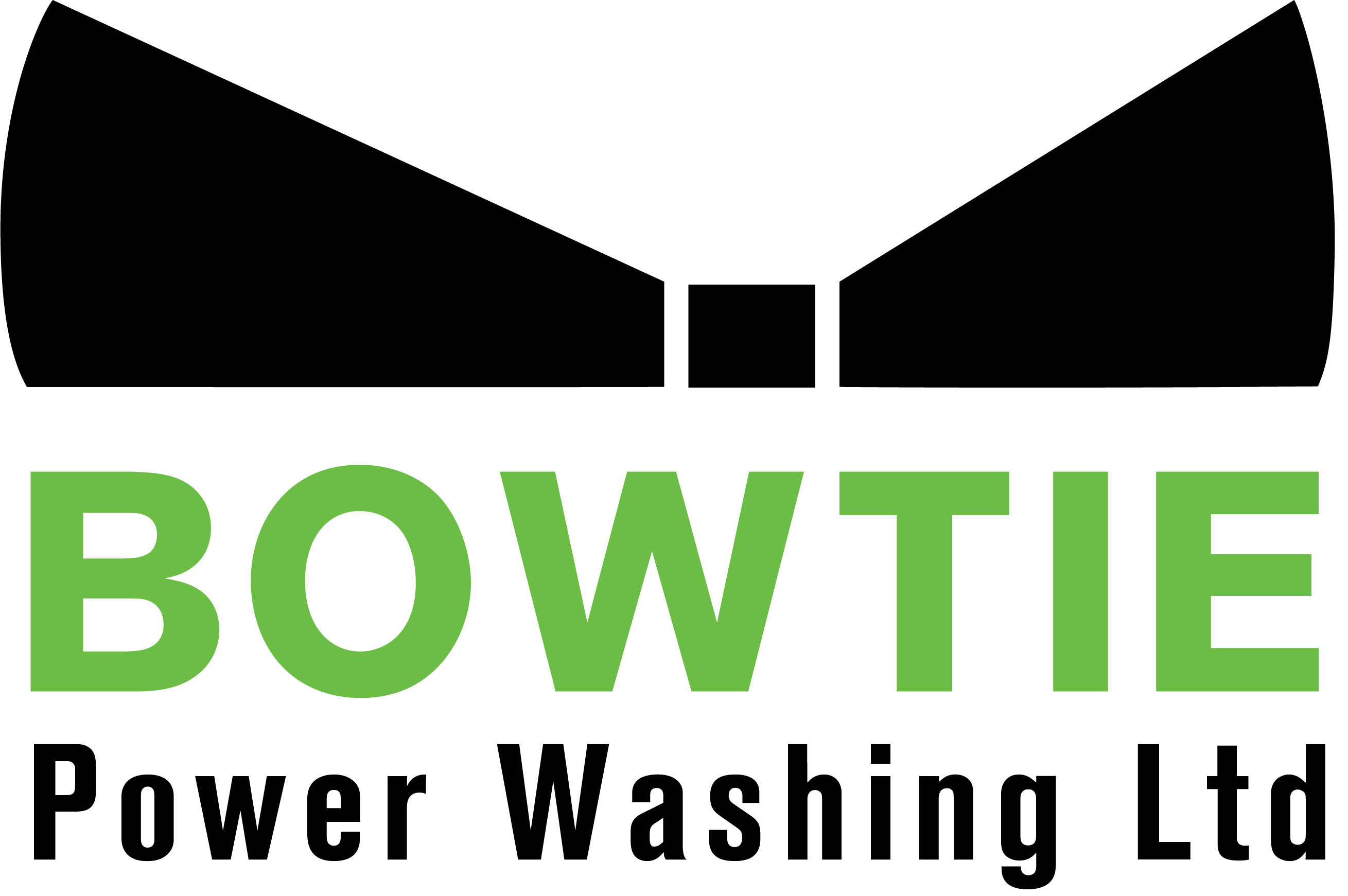 Bow Tie Power Washing Ltd Logo